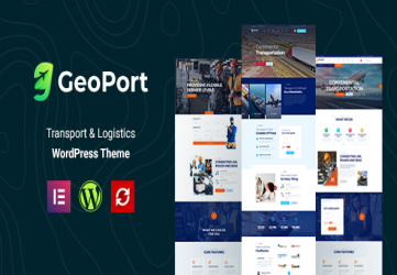 Geoport - Transport & Logistics WordPress Theme