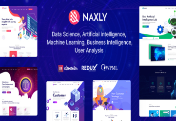 Naxly - Data Science & Analytics WordPress Theme