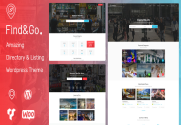 Findgo - Directory Listing WordPress Theme