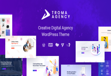 Troma - Digital Agency WordPress