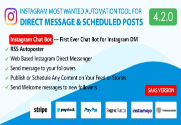 DM Pilot — Instagram Most Wanted Automation Tool for Direct Message & Scheduled Posts
