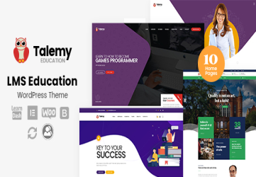 Talemy - LMS Education WordPress Theme