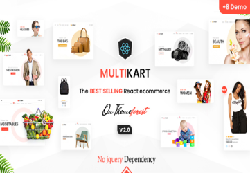 Multikart - React eCommerce Template