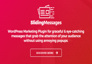 WordPress Marketing Plugin – Sliding Messages