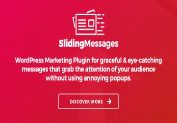 WordPress Marketing Plugin – Sliding Messages