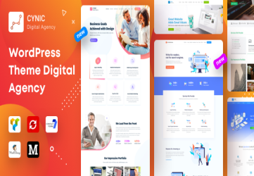 Agency Cynic - Digital Agency, Startup Agency, Creative Agency WordPress Theme