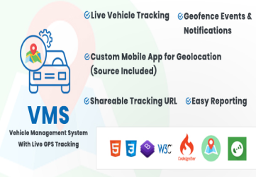 Vehicle Management System With Live GPS Tracking