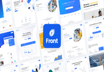 Front - Multipurpose Business WordPress Theme