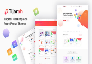 Tijarah - Digital Marketplace WooCommerce Theme