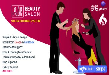 Salon Booking Management System