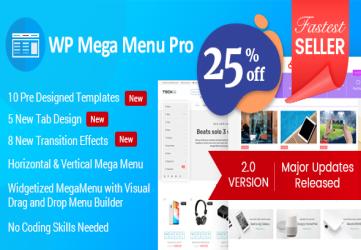WP Mega Menu Pro - Responsive Mega Menu Plugin for WordPress