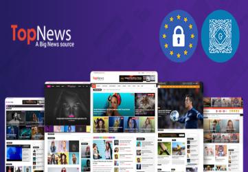 TopNews - News Magazine Newspaper Blog Viral & Buzz WordPress Theme