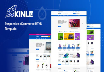 Kinle - Responsive eCommerce HTML Template