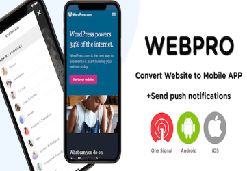 WEBPRO | Universal WebView Configurable React Native Mobile Application