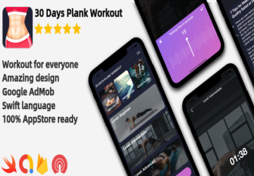 Plank Workout - iOS Workout Application