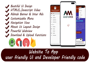 Super Universal Webview Android App With Admob