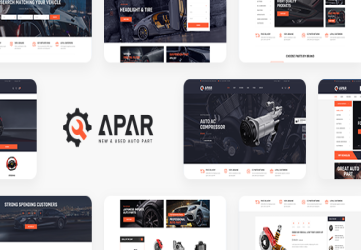 Apar - Auto Parts WordPress Shop Theme