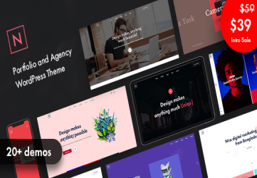 Niro - Creative Agency & Portfolio WordPress Theme