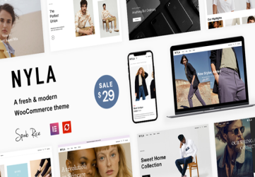 Nyla - A Fresh & Modern WooCommerce Theme