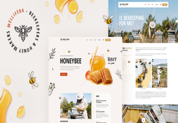 Mellifera - Beekeeping and Honey Shop Theme