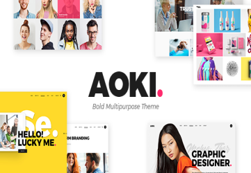 Aoki - Creative Design Agency Theme