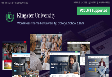Kingster - LMS Education For University, College and School