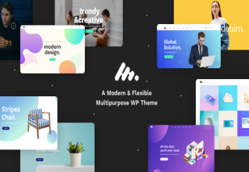 Corporate Business Agency WordPress Theme - Moody