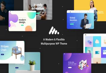 Corporate Business Agency WordPress Theme - Moody