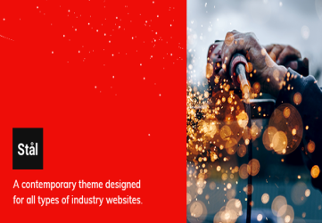 Stål - Industry WordPress Theme
