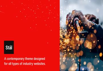 Stål - Industry WordPress Theme