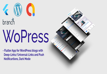 WoPress - Flutter App For WordPress News Sites and Blogs