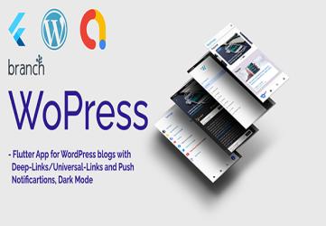 WoPress - Flutter App For WordPress News Sites and Blogs