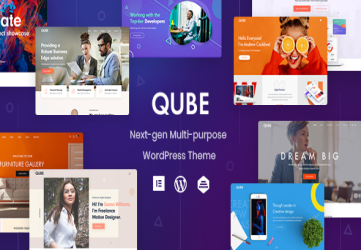 Qube - Responsive Multi-Purpose Theme