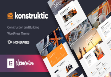 Konstruktic - Construction & Building WordPress Theme