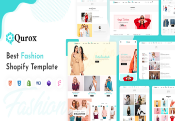 Qurox - Responsive Shopify Fashion Theme