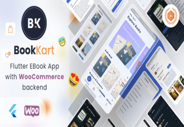 Bookkart: Flutter Ebook Reader App For Wordpress with WooCommerce