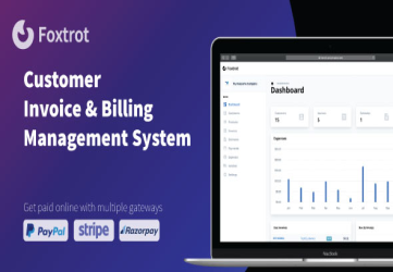 Foxtrot - Customer, Invoice and Expense Management System