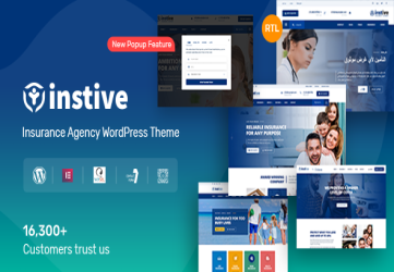Instive - Insurance WordPress Theme