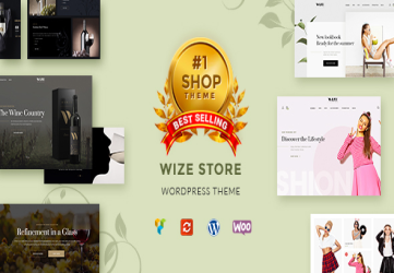 WizeStore - Multipurpose WooCommerce Shop