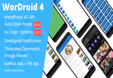 WorDroid - Full Native WordPress Blog App For Android