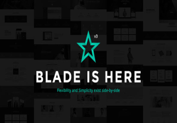 Blade - Responsive Multi-Functional WordPress Theme