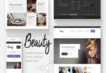 Beauty - Hair Salon & Spa WordPress Theme