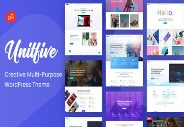 Unit Five - Creative Multi-Purpose Theme + RTL