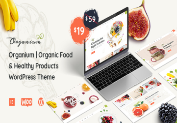 Organium | Organic Food Products WordPress Theme