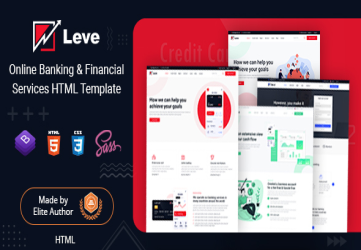 Leve - Banking & Payment Processing HTML Template