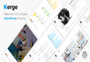Kerge CV/Resume Theme