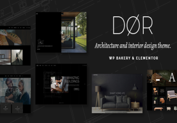 Dør - Modern Architecture and Interior Design Theme