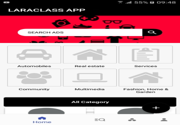 LaraClassApp:Android Native for Laraclassified