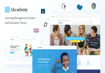 iAcademy - Education Theme for Online Learning