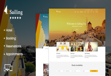 Hotel WordPress Theme | Sailing